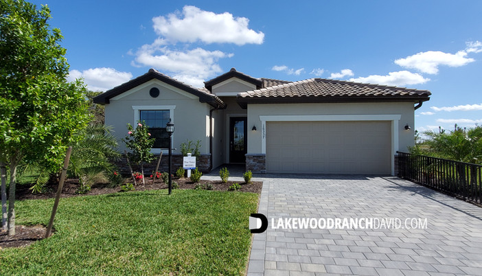 Lorraine Lakes Trevi model home in Lakewood Ranch