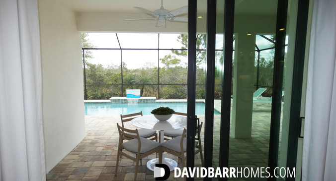 Cielo model home pool