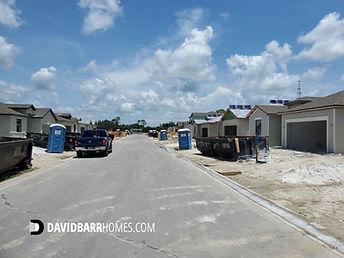 Tortuga Venice FL homes under construction