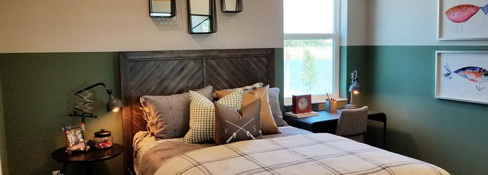 Worthington model home bedroom