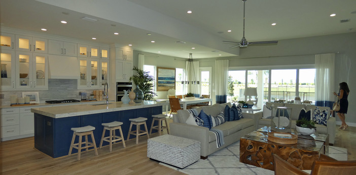 Kitchen Island in The Isles of Lakewood Ranch