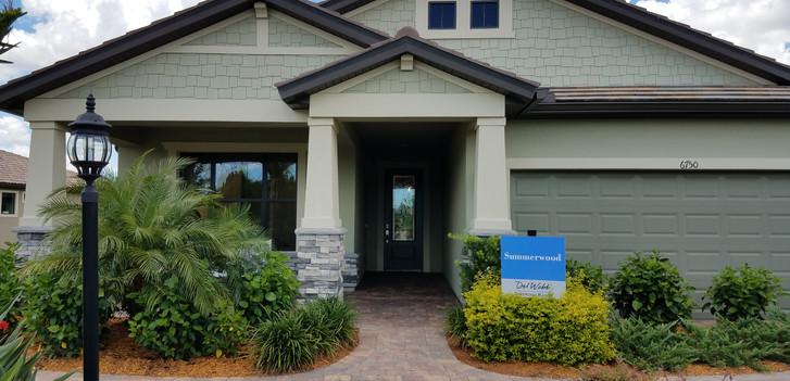Del Webb model home