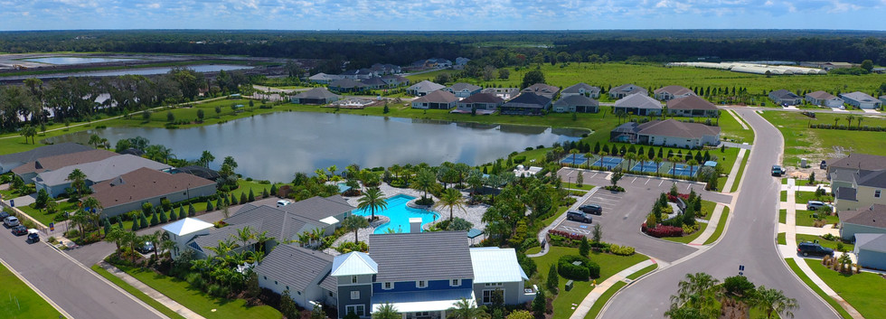 Canoe Creek Clubhouse and Pool in Parrish FL
