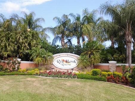 Red Hawk Reserve Sarasota homes for sale