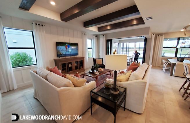 Mystique model home great room