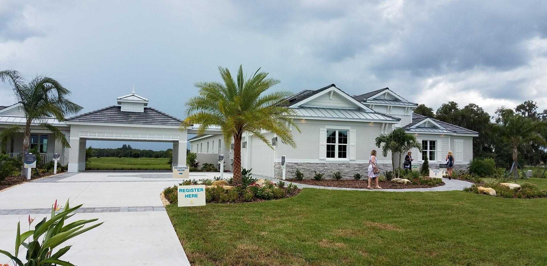 Hampton Lakes model home in Sarasota