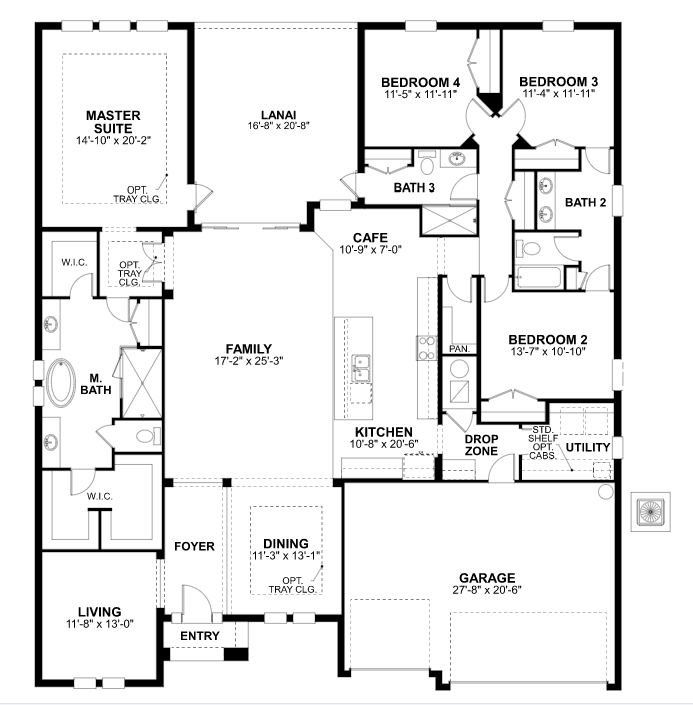 Interlude floor plan