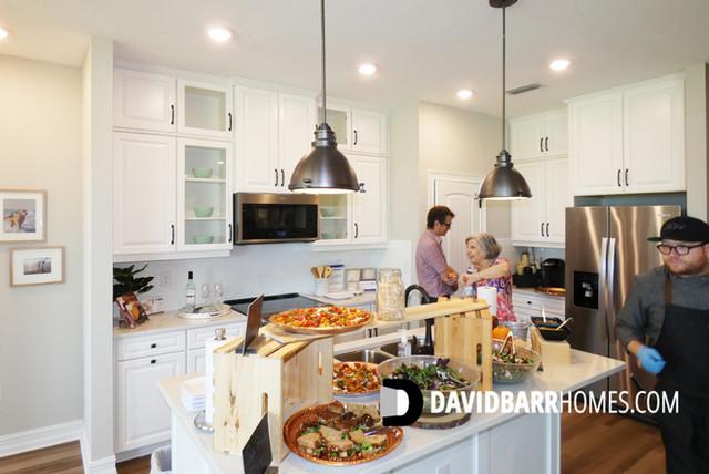 Venice Woodlands model home kitchen