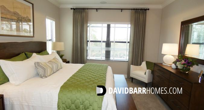 Cielo model home master bedroom
