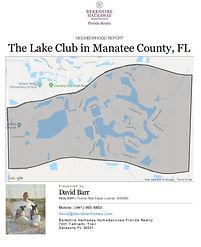 The Lake Club Lakewood Ranch demographic report