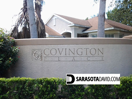 Covington Place Sarasota homes for sale