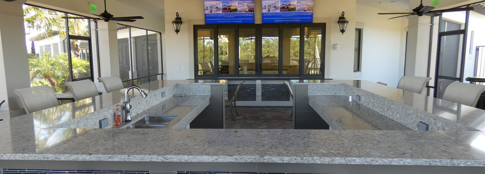Hammock Preserve Sarasota outdoor bar