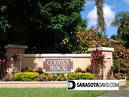 Country Manor Sarasota homes for sale
