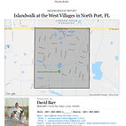 Islandwalk Venice FL real estate and demographic report