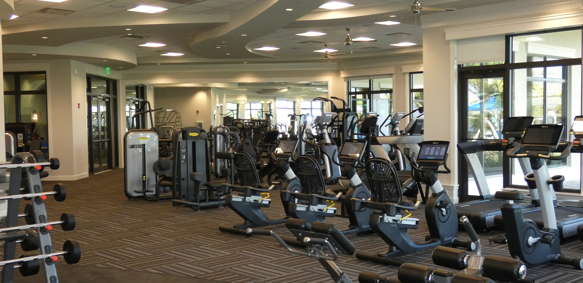 Lakewood National club house fitness center