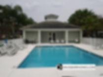 Magnolia Park community pool in Venice FL