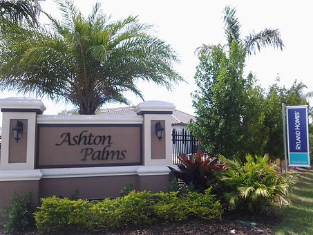 Ashton Palms Sarasota homes for sale