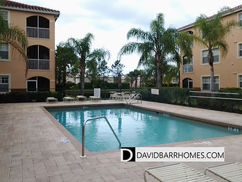 Tuscany Lake community pool in Venice FL