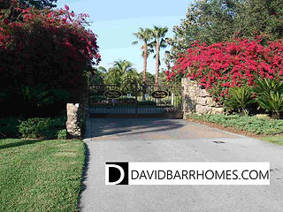 Venice FL Gated Home Community of Myakka River Trails