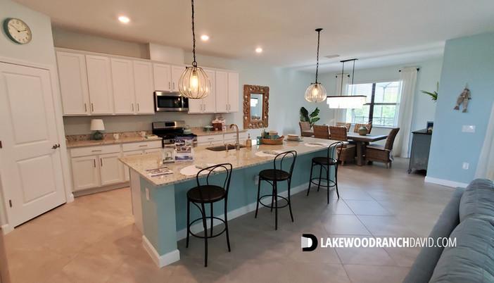 Lorraine Lakes Lakewood Ranch Sorrento model home kitchen