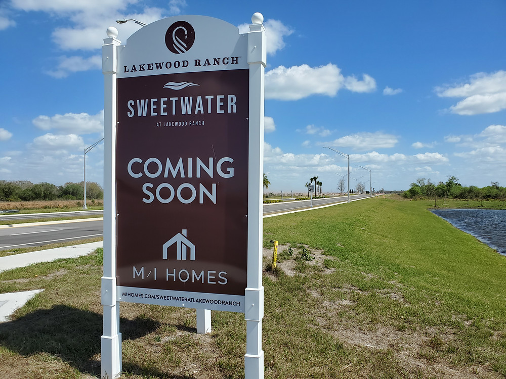 Sweetwater Lakewood Ranch new homes coming soon