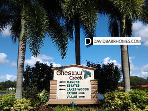 Chestnut Creek Venice FL homes for sale