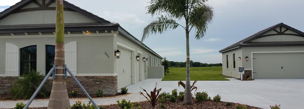 Extra garage space at Hampton Lakes