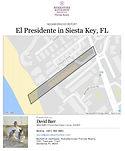 El Presidente Siesta Key demographics