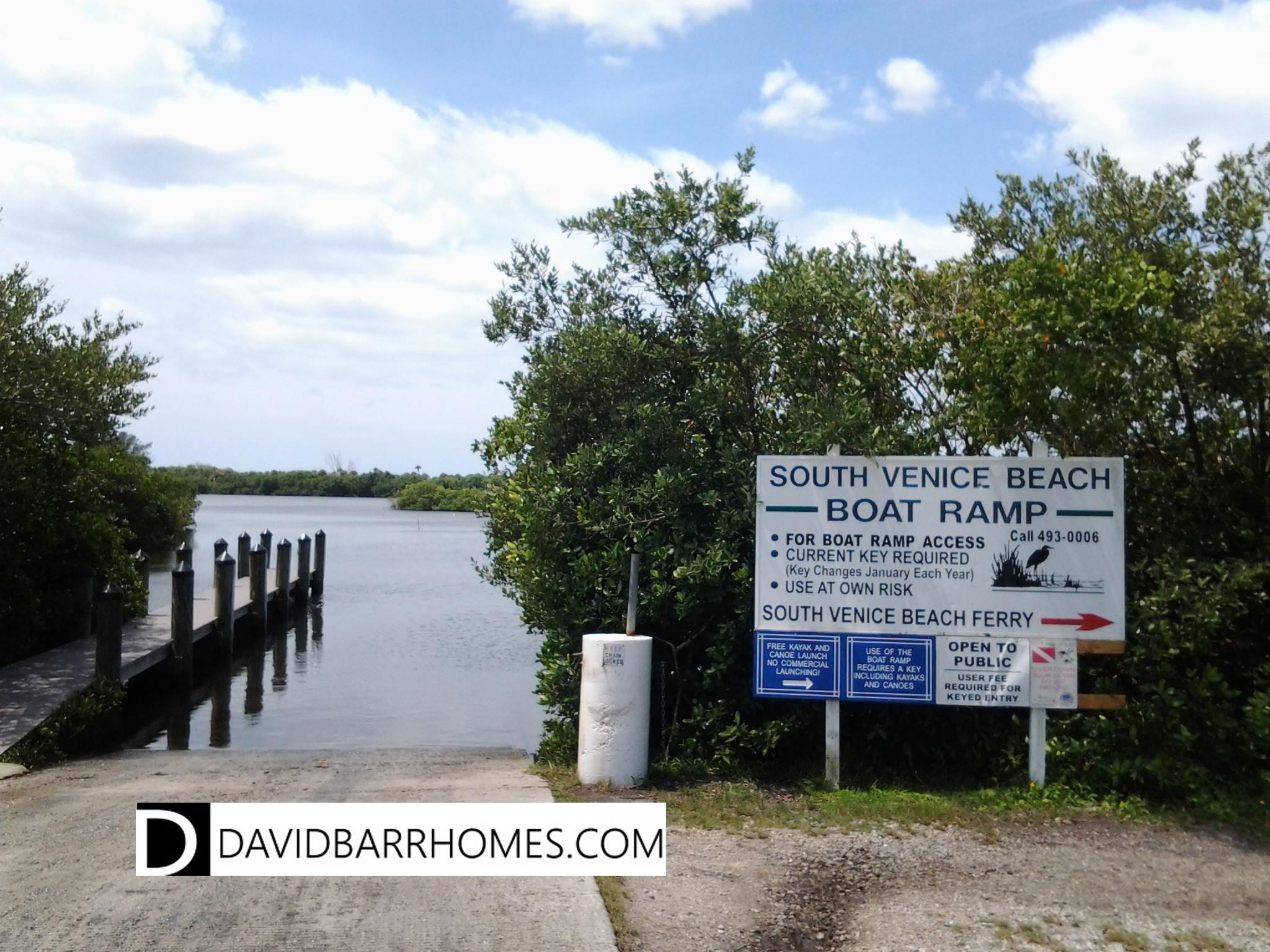 South Venice boat ramp