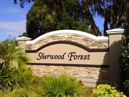 Sherwood Forest Sarasota homes for sale