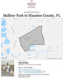 Mallory Park Lakewood Ranch neighborhood report