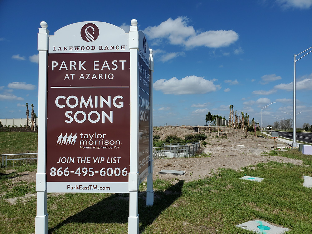 Park East at Azario new homes coming soon