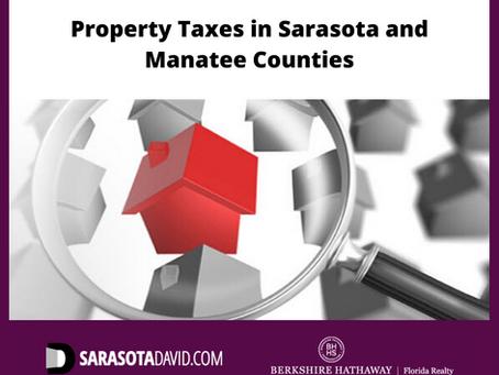 Property Taxes | Sarasota FL | David Barr Realtor