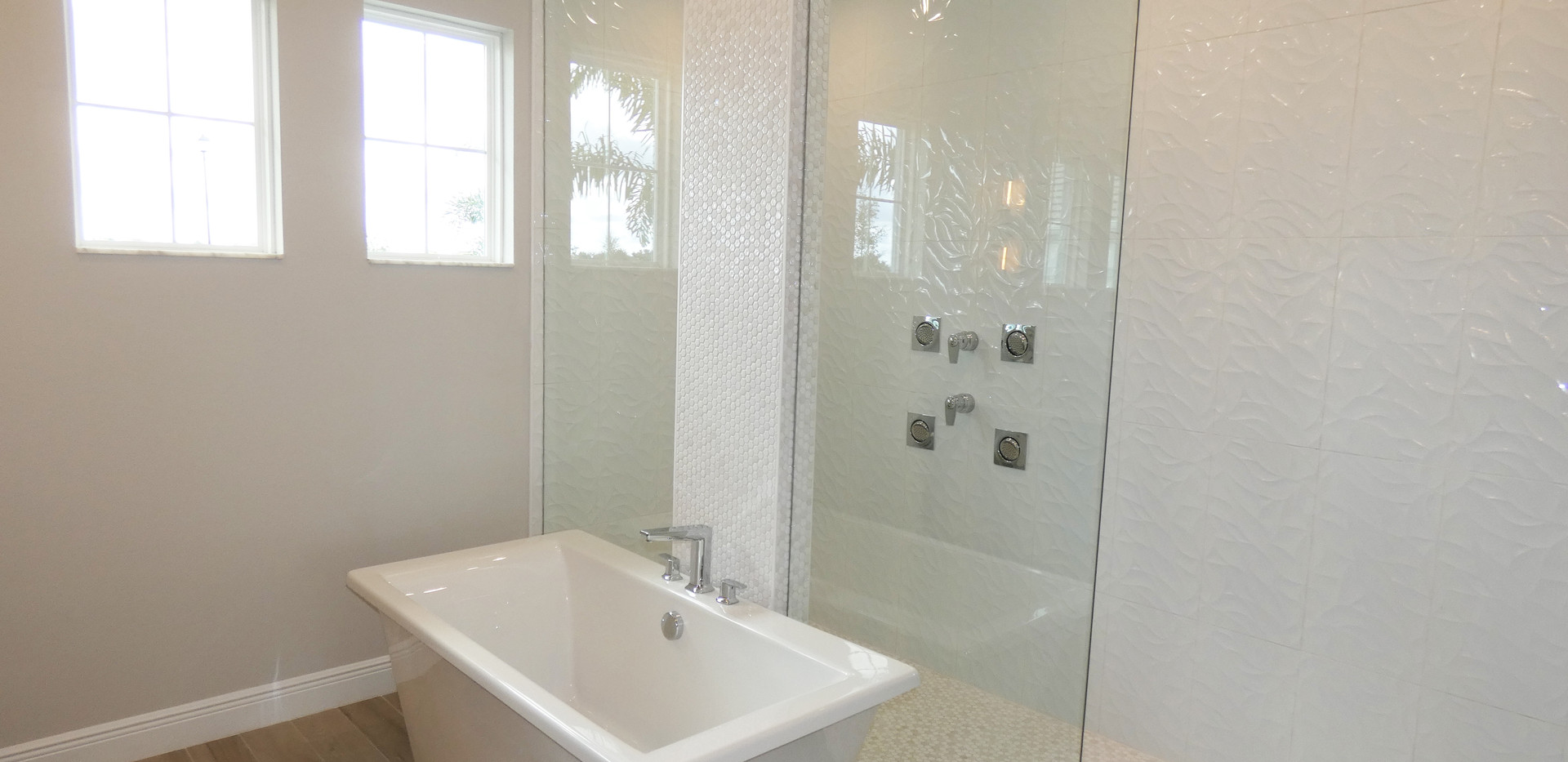Cardel Homes master bath in Worthington