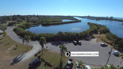 South Venice Beach Ferry overhead