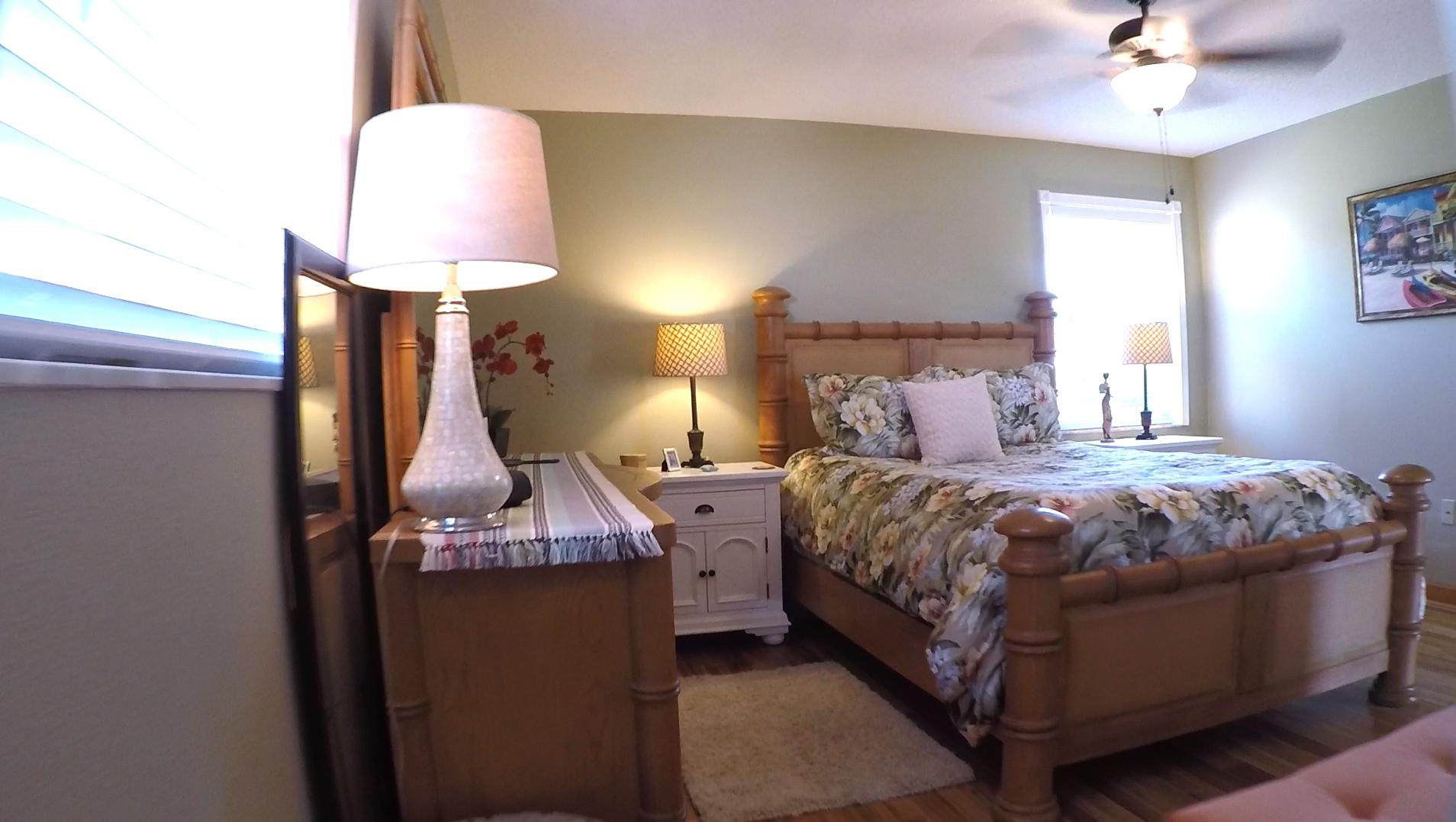 1207 Falcon Road master bedroom