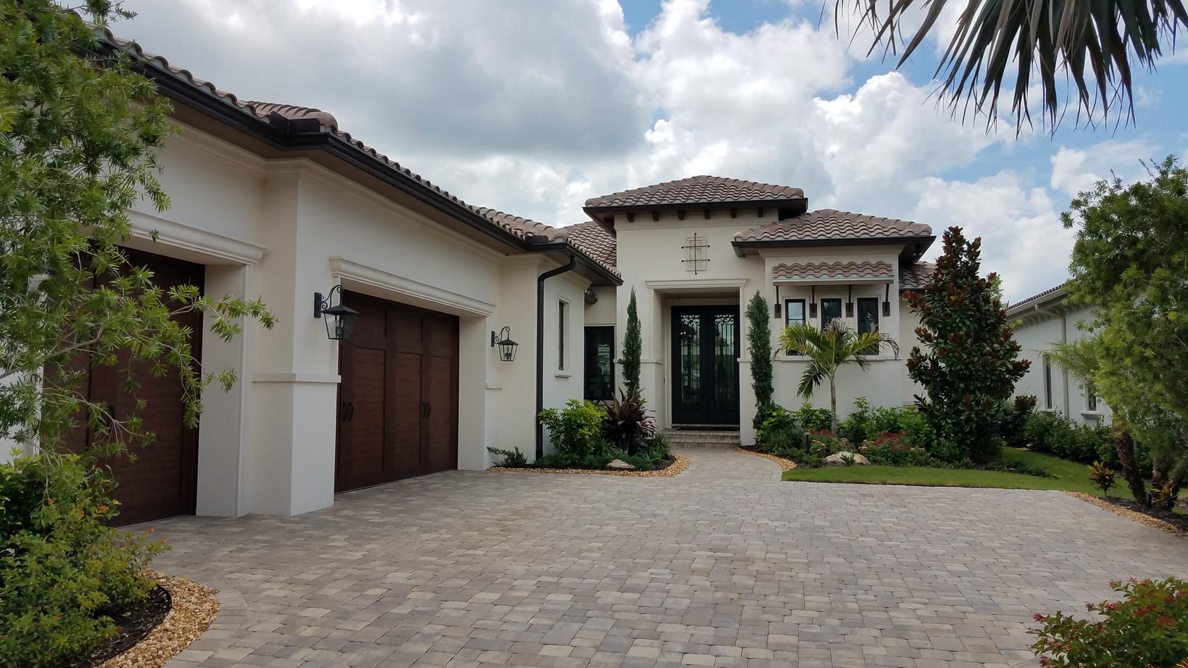 The Lake Club model homes