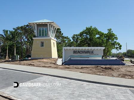 Beachwalk Englewood FL entrance