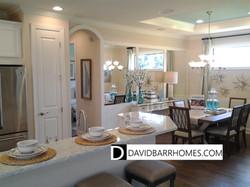 Bellacina model home dining room