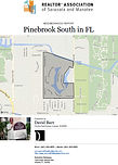 Pinebrook South Venice FL demographic and real estate report