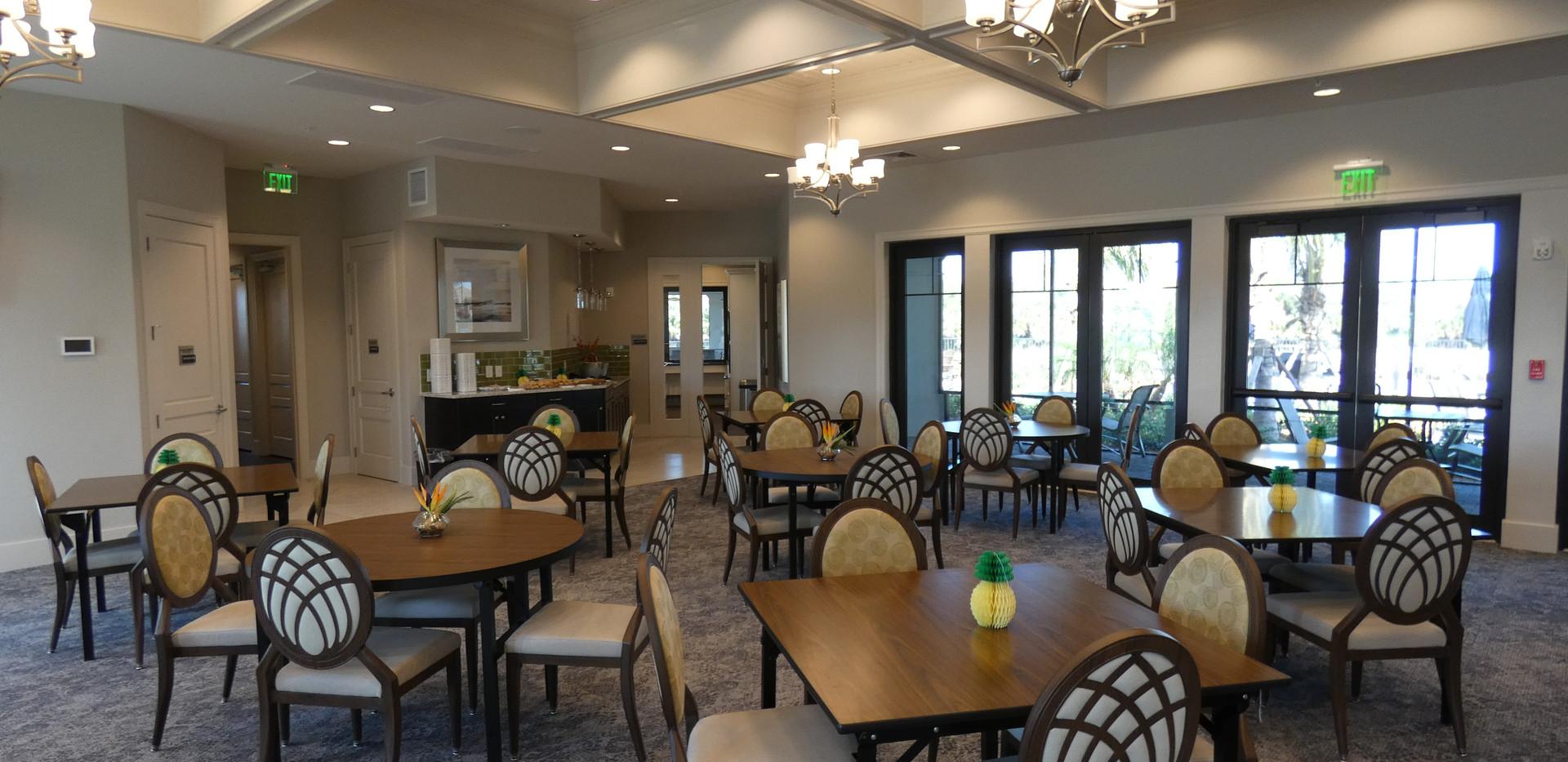 Hammock Preserve Sarasota meeting room