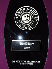 David Barr Venice FL Realtor 2017 BHHS award winner