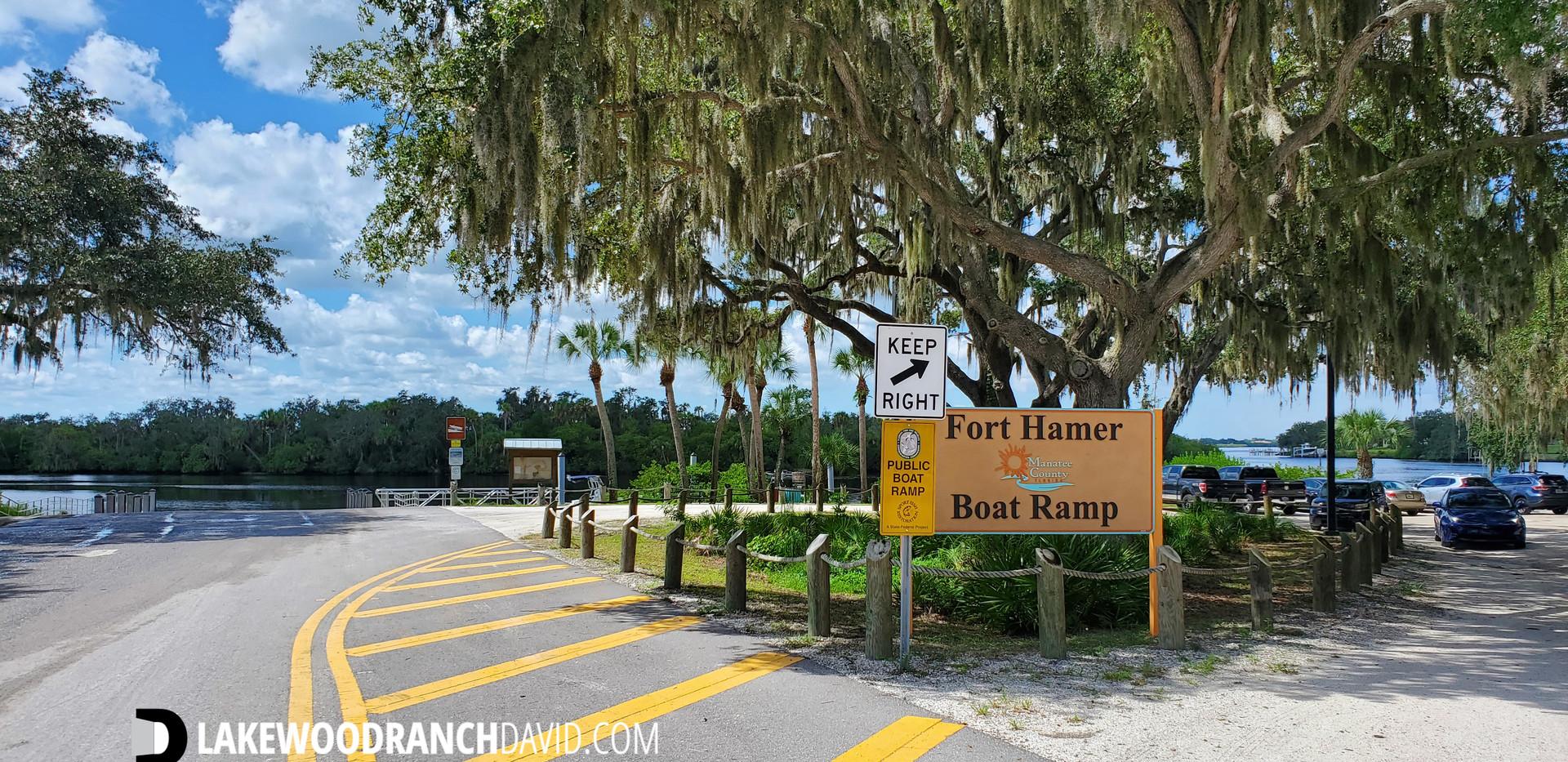 Fort Hamer Boat Ramp in Parrish FL