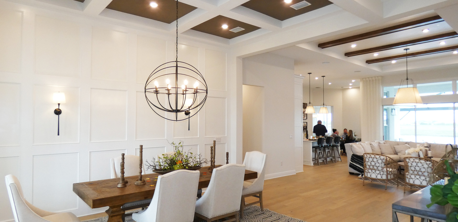 Formal dining in Cardel Homes Worthingto