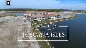 Toscana Isles Venice FL town homes for sale video