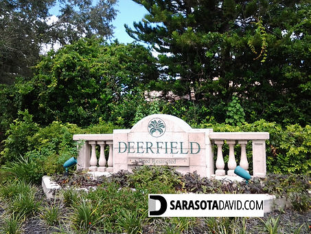 Deerfield Sarasota homes for sale