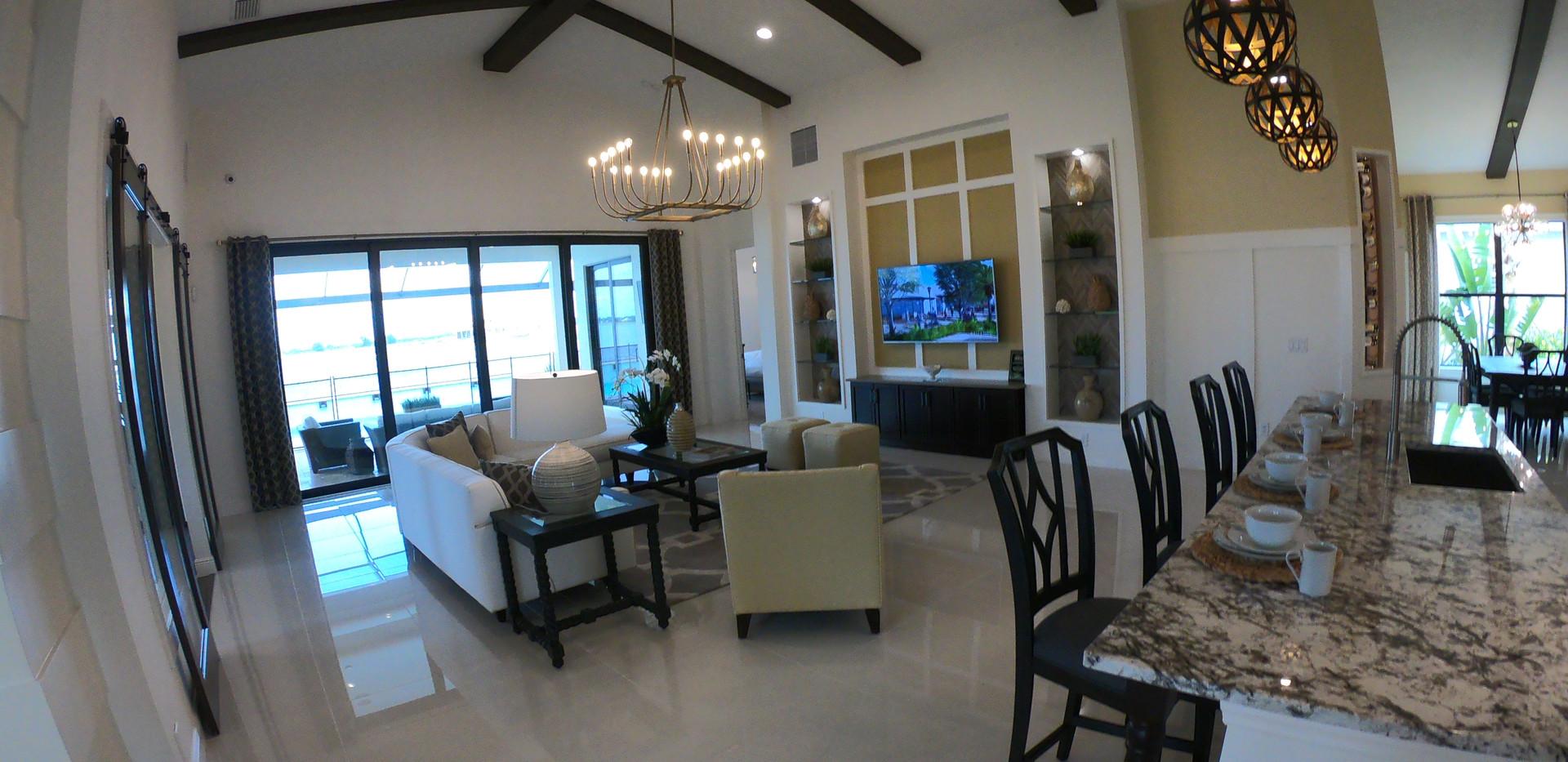 Waterside model home in LWR