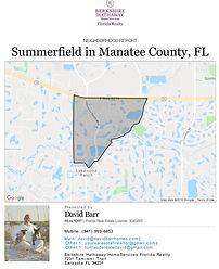 Summerfield Lakewood Ranch neighborhood report