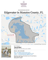 Edgewater Lakewood Ranch neighborhood report
