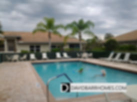 Auburn Woods community pool in Venice Fl
